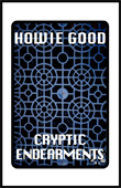Cryptic Endearments by Howie Good