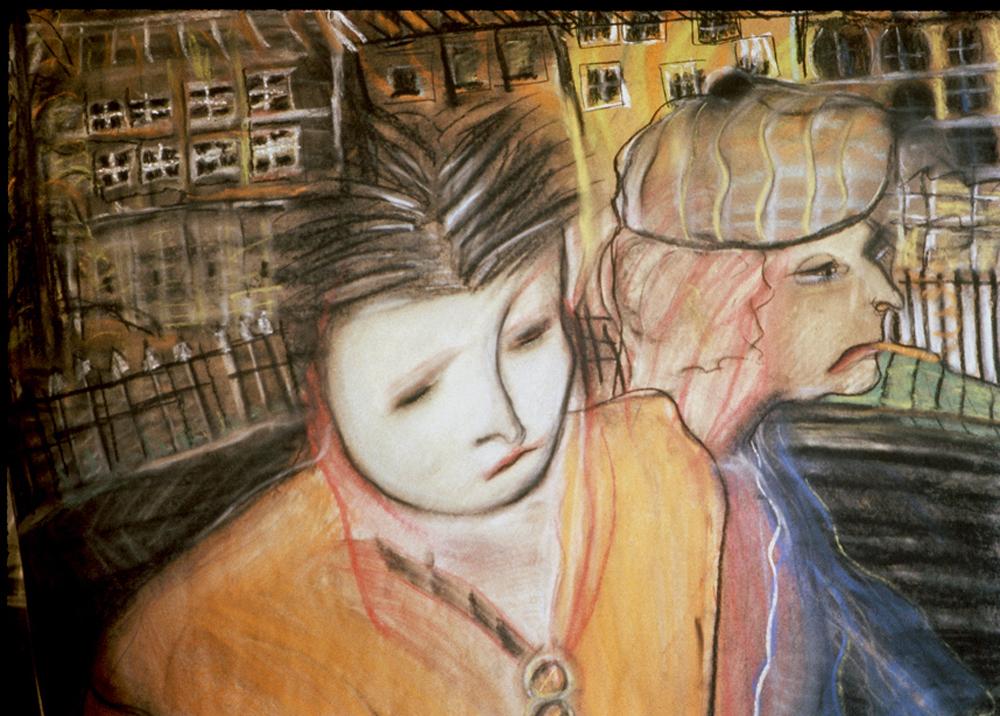 Street Folks by Jennifer O'Neill Pickering