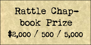 2016 Rattle Chapbook Prize