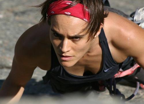 Jessica Jacobs Rock Climbing
