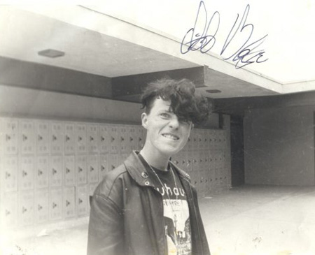 Clint Margrave in high school.