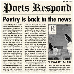 Poets Respond: Poetry is back in the news